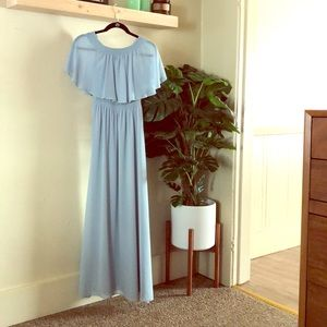 Show Me Your Mumu Bridesmaids Dress - Steel Blue